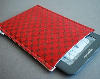 Kindle Paperwhite Case / Kindle Paperwhite Cover / Kindle Paperwhite Sleeve - Red Dot
