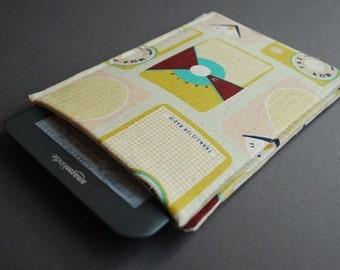 Kindle Voyage Case / Kindle Paperwhite Case / Kindle Fire HD Case / Kindle Fire HDX Cover - Transistor Radio Pink