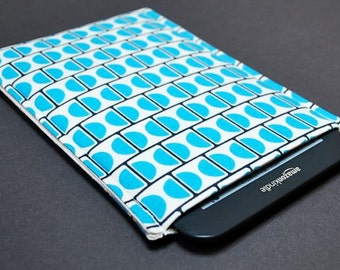 Kindle 7 Case / Kindle Touch Cover /  Kindle Paperwhite / Nook HD Plus Case / Nook Tablet - Blue Blok