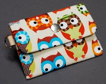 Change Purse Business Card Case Credit Card Holder - Hootsweet