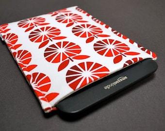 "Kindle Voyage Case / Kindle Fire Sleeve / Kindle Fire HD 10"" Case / Kindle Fire HDX / Kindle Fire HD 8"" - Cut Red Apple"