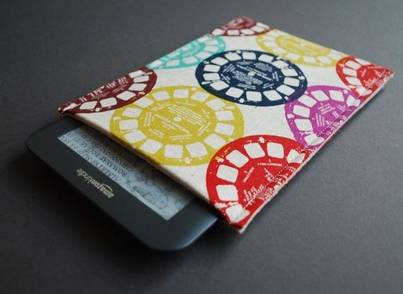 Kindle Paperwhite Cover / Nook Glowlight Plus Case - Viewfinder Multi