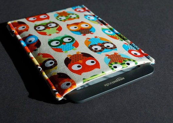 Kindle Case / Nook Cover / NookColor / Kobo / Touch / Sony / Galaxy Tab / Kindle Sleeve / iPad Mini Case / Kindle Paperwhite - HootSweet
