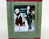 Fred Aistaire and Ginger Rogers 2 drawer chest