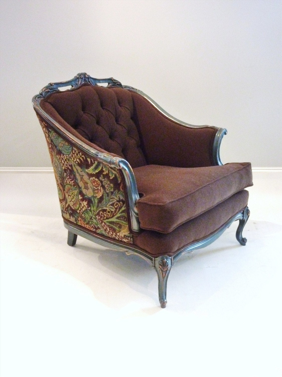 Chocolate And Berries Comfy Reading Chair By Fabulouspieces