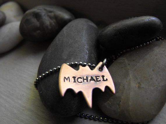 My Small Hero Bat Necklace