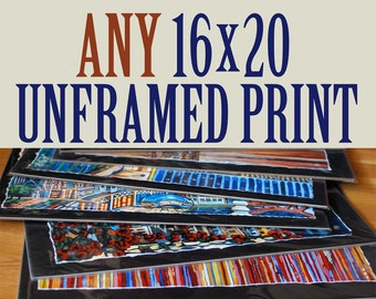 ANY 16x20 Unframed Limited Edition Print by Anastasia Mak