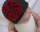 Custom Listing for KATRINA -  Sweet Flower Baby Hat