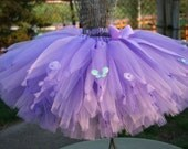 Garden Nymph Sewn Custom Tutu, Create Your Own Knotted Nymph Tutu, Sizes 3 - 7, up to 12 inch length
