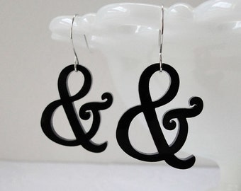 Harrington Ampersand Earrings