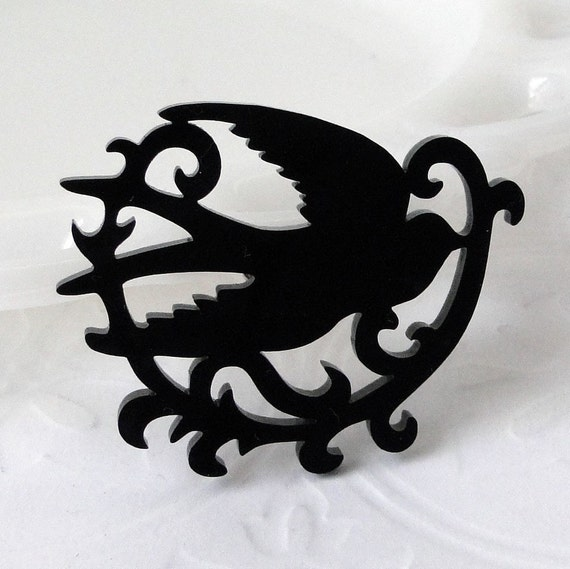 Swallow Bird Brooch