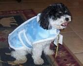 Minky Sherpa Dog Coat - Custom Hand Made -   Size LARGE   Personalizing Available