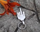 Fork U Silverware Keychain