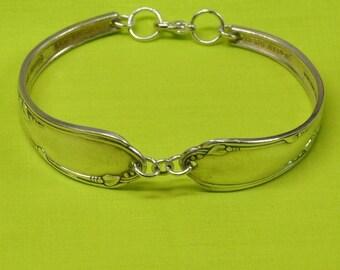 Silver Meadow Brook Spoon Bracelet