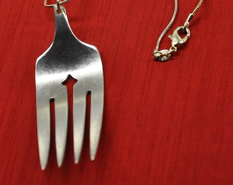 Fork End Necklace
