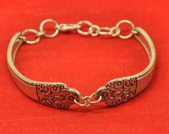Precious Silver Spoon Bracelet