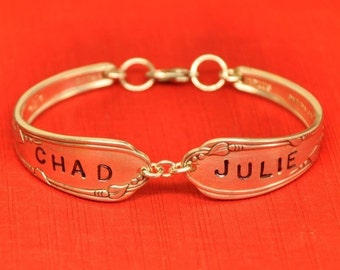Beautiful Personalized Spoon Bracelet