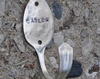 Personalized Spoon Hook