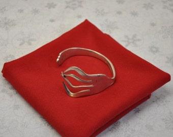 Modern Fork Bracelet Cuff