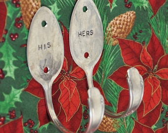 HIS and HERS Spoon Hooks