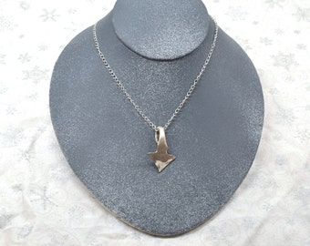 Silver Spoon Arrow Necklace
