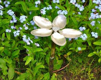 Personalized Spoon Flower Garden Art