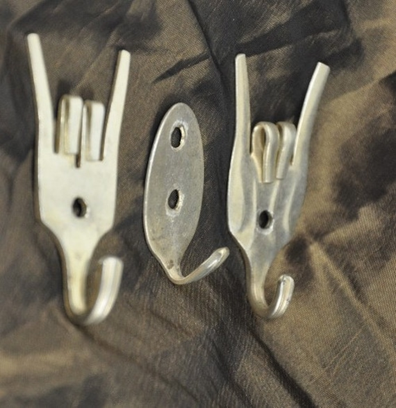 Mini Rock On Forks And Spoon Hook Combo