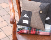 Wooly Lapel Tweed PILLOW COVER - 14 Inch