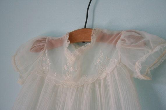 Vintage Sheer, Dainty BABY DRESS