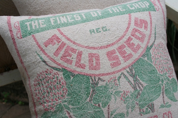 The Philadelphia Seed Co, FEEDSACK PILLOW Cover - 14 Inch