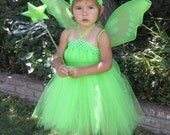Tinkerbell Tutu Halloween Dress