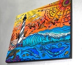 Hatteras Experience Wall Panel