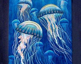 Jellyfish Cutting Board or Hot Plate