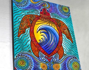 Wave of the Turtle Wall Panel