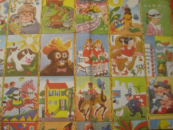 Vintage Book, Childrens Book, Little Golden Books Treasury, 1966 Hard Cover Edition, 48 Illustrated Stories, Golden Press