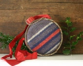 Vintage blanket covered canteen ... great for your hot cocoa and baileys