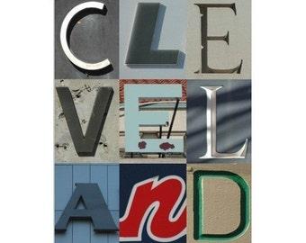 CLEVELAND - 8 x 10 photograph