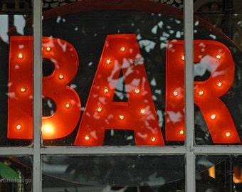 BAR - 4 x 6 photograph