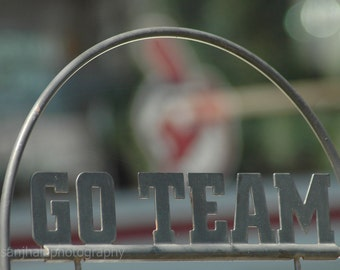 Go Team Cleveland Indians - 4 x 6 fine art photograph