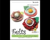 HandBEHG Felts - Brooch Kit