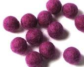 1.5CM Felt Balls/24-Piece - Concord