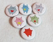Wee Monster Magnets