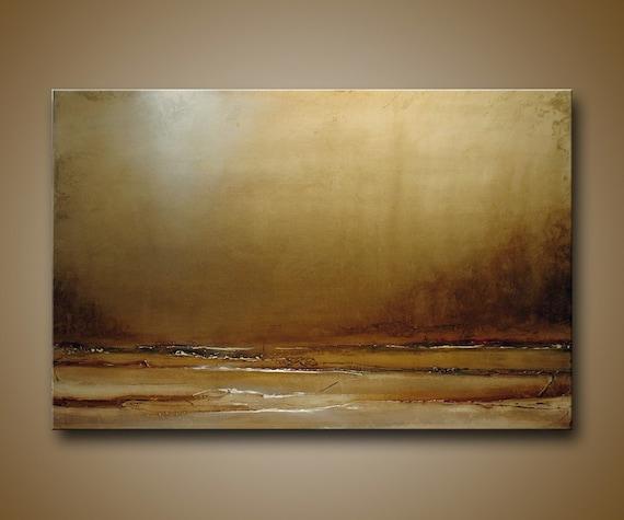 Original Textural semi-Abstract Landscape