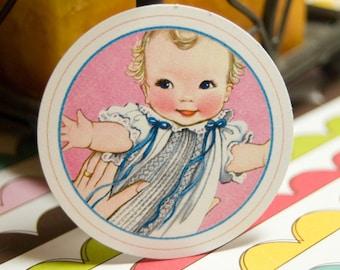 Baby Vintage Tags - Set of 12