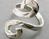 Handcrafted Sterling Silver Ring or Toe Ring