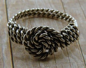 Sterling Silver Twisted Wire Wrapped Ring