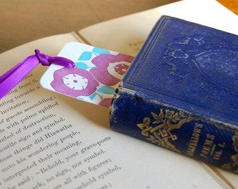 Set of 6, Assorted Letterpress Printed Bookmarks