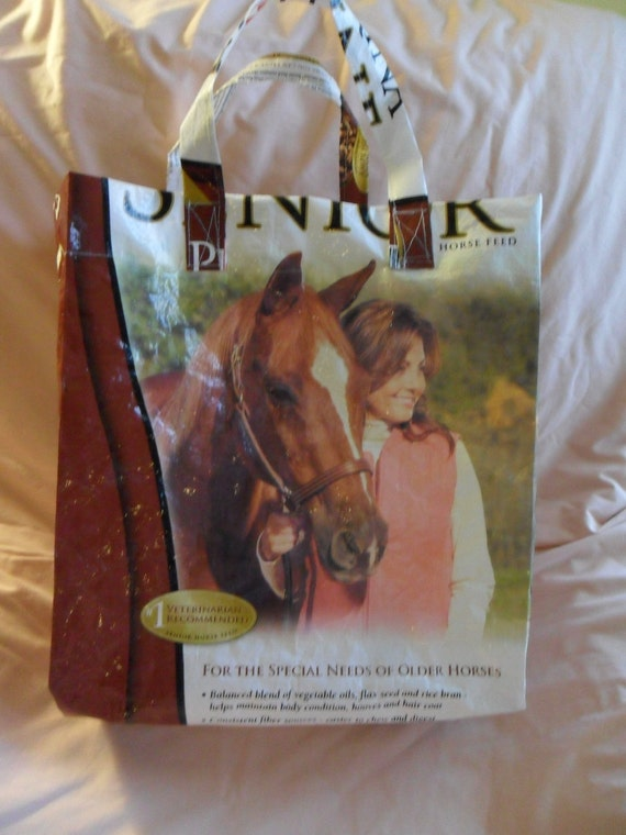 Equine Senior Upcycled Market Bag