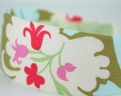 Amy Butler Acanthus in Olive Fabric Covered Headband