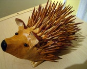 Hedgehog Sculpture, Desk Sitter